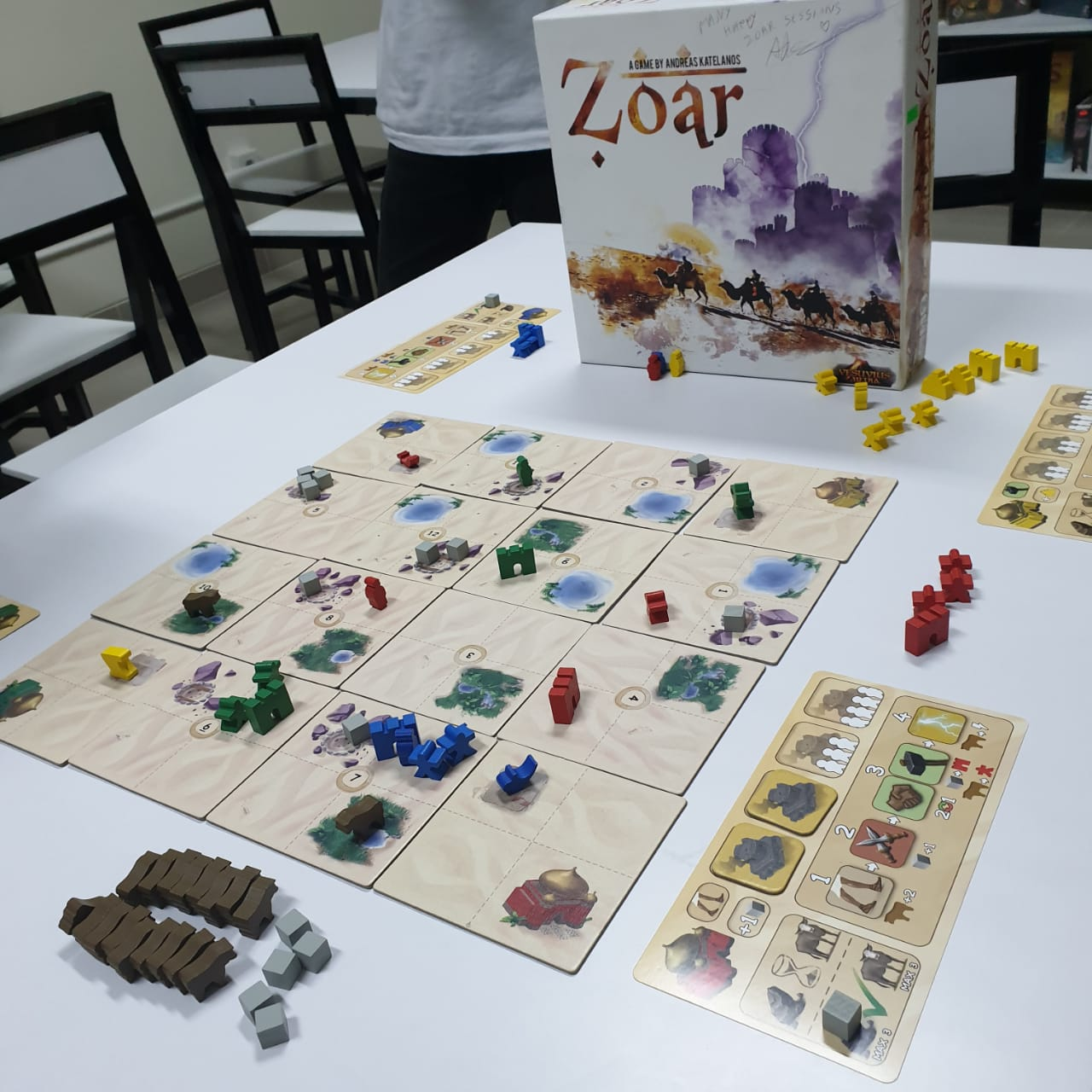 Zoar: Bring the ancient glory or eradicate enemies' cities [Review]