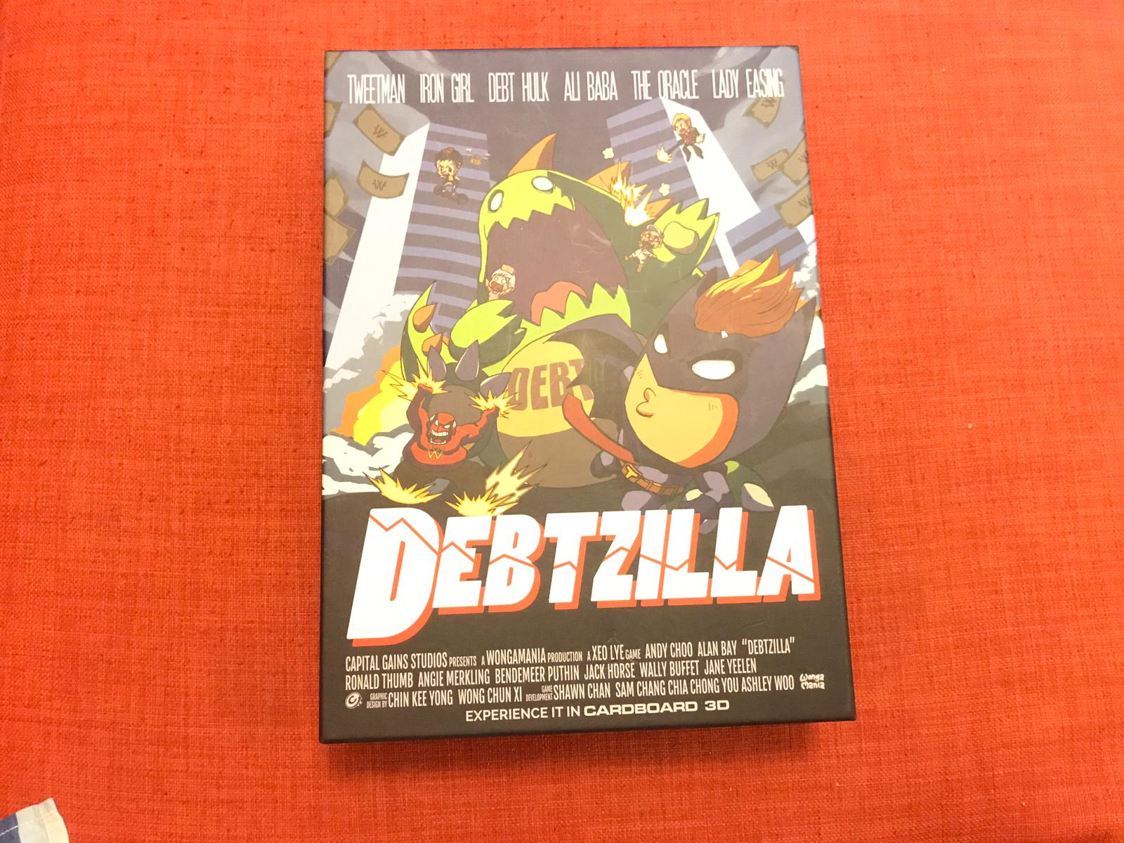 Debtzilla board game